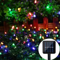 Solar Lamps LED Light String 7m-22m Outdoor Waterproof Courtyard Wall Lawn DIY Decorative 50LED- 200LED Fairy Tale Garland