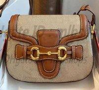 Alta Qualidade 1955 Designer G Famosos Luxurys Handbags Clássico Ombro Moda Bag Mulheres Impressão Sela Saco de Embreagem Totes Crossbody 2021 Cadeia Bolsa de Satchel Bolsa