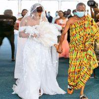 Plus Size A Line Wedding Dresses Side Split Bridal Gown Country Lace Bohemian Vestidos De Noiva