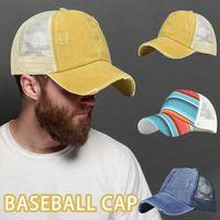 Beanies 1PC Cotton Baseball Cap For Women Men Fashion Snapback Hip Hop Dad Mesh Hat Trucker Summer Sun Hats Gorras