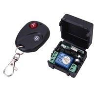 Controlador de interruptor de controle remoto sem fio universal DC12V 10A 433MHz Transmissor com controladores do módulo do receptor
