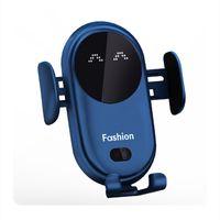 S11 Smart Infrarouge Sensor Chargeur sans fil Chargeurs de téléphonie mobile automatique Chargeurs de base avec support de montage de ventouse pour iPhone12 11 xr Samsung S9 S7 S7 S6