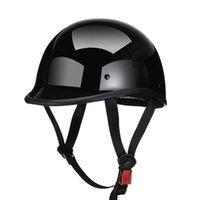 Motorcycle Helmets AMZ High-quality ABS Summer Vintage Hard Hat Helmet Capacete De Moto Motocross