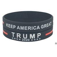 Trump 2024 pulsera de silicona negro azul rojo pulsera fiesta favorece 4 colores hwe8564