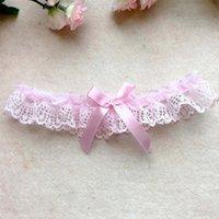 Hochzeit Sexy Frauen Mädchen Spitze Floral Bowknot Party Braut Dessous Cosplay Bein Strumpfband Gürtel Hosentum 6 Farben XHLS27
