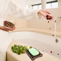 2 estilos Natural de madeira de madeira sabão placa de bandeja armazenamento de armazenamento placa de placa de placas de placa para banho casa de banho banheiro 546 R2