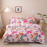 Bedding Sets Product 100% Polyester Fiber 4PCS Rural Style Adult And Children Bedspread Quilt Cover Pillowcase In Various Sizes
