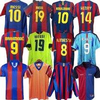 Retro Futbol Jersey Barcelona 96 97 07 08 09 10 11 Xavi Ronaldinho Ronaldo Rivaldo Guardiola Iniesta Finalleri Messi Maillot De Finals 1899 1999