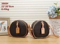bags Luxury Designer Round Women Makeup Wallet Crossbody PU High Quality 3868