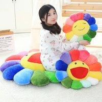 2020 Nette Murakami Takashi Sonnenblume Plüschkissen Spielzeug Weiche Kissen Sofa Puppe 35 cm 50 cm große größe 720 y2