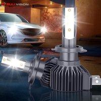 자동차 헤드 라이트 LED 헤드 라이트 전구 16000 루멘 무선 5530 CSP 칩 6000K H4 H7 H11 H1 9005 9006 헤드 램프 키트