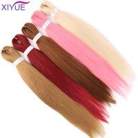 인간 ponytails xiyue 26inches 다채로운 pre 뻗어 전문 땋은 머리 perm 야키 점보 머리 끈 끈 끈 끈 끈