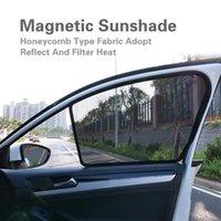 Car Sunshade For Kia SL 2021-2021 Side Window Front Windshield Blind Sun Shade Magnetic Visor Mesh Curtains Net