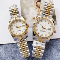 Mens Watches Automatic Mechanical Watch Diamond Design Stainless Steel Lady Wristwatches 31MM 36MM Montre de Luxe High Quality Free Transpor