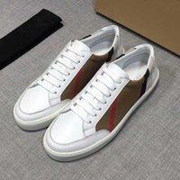 2021New Sneakers Vintage Coton et daim de luxe de luxe Chaussures Hommes Vérifié Sneaker sur toile avec boîte 50wd #