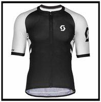 Scott Team Pro Giyim Kısa Kollu Jersey (BIB) Dağ Nefes Yarışı Spor Bisiklet Döngüsü Yumuşak Giyim Cilt Dostu Gömlek Açık Yaz 43027
