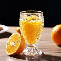 Weingläser 2 STÜCKE pro Einheit 210ml / 7oz Ananas Cocktail Glas Whisky oder saftige Bleifreie Glaswaren Home Bar Zubehör Umweltfreundlich