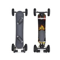 New Powerful Electric Scooter 4 Wheels Electric-Scooters Belt Drive Motor 1650W 36V 40KM H Off Road Electrics Mountain Skateboard