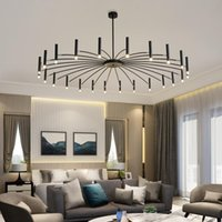Pendant Lamps Europe Led Crystal Iron Chandelier Kitchen Dining Bar Hanging Lights Chandeliers Hang Industrial Lamp Bedroom