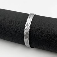 Link, Chain Fashion Titanium Steel Blade Bracelet Men And Women Simple Stainless Wild Long Buckle