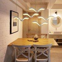 Chandeliers Led Light Chandelier Ceiling Cottage Living Decor Room Decoration Nordic Home Lamparas De Techo