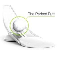 Golf Training Aids 1Pcs Pressure Putting Trainer Aid Office Home Carpet Practice PuAim For PuTrainer