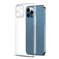 Phone Case Soft Transparent Clear IPhone 13 Cases Protective Cover Shockproof cellphone shell for iPhones 13promax 12 11pro 7 X XS fall proof dirt resistant very nice