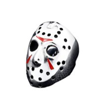band Halloween Jason Alloy Mask Black Friday Motorcycle Ring