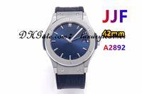 JJF Factory Neutral Watches Macchinari automatici ETA-2892 Dimensioni movimento 42 o 38mm Materiale in titanio Materiale in gomma cinturino in gomma zaffiro