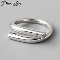 Wedding Rings Gothic 925 Sterling Silver Big Chains For Women Bridal Antique Rock Jewelry