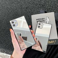 Mirror Phone Case for iPhone 12 11 mini Pro MAX XS XR 7 8 plus SE 2 back cover shell