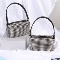 New 2021 designer full diamond underarm bag retro handbag luxury shoulder bag Top quality for women Coin Purses