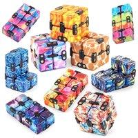 Infinity Magic Cube Creative Galaxy Fidge Toys AntiStress Office Flip Cubic Puzzle Mini Blocks Декомпрессионная игрушка с розничной коробкой