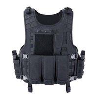 Gilet a prova di moda Abbigliamento Abbigliamento Tactical Piatto Punta Swat da caccia Pesca Giacche da caccia militare militare