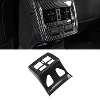 Für Toyota Avalon XX50 2019-2021 Autoauto-Accessoires Back Air Vent Panel-Rahmen Trim-Abdeckung Aufkleber Innendekoration