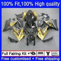 Injection Mold Fairings For SUZUKI GSXR 1000 CC 1000CC 2007-2008 Bodys 27No.06 Golden black GSX-R1000 GSXR1000 K7 07 08 GSXR-1000 GSXR1000CC 2007 2008 OEM Bodywork