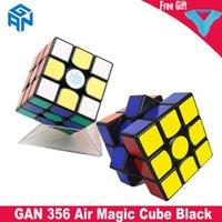 Gan356 Ar Edição Standard 3x3 Cubo Preto Gan Speed Speed Cube Brinquedos Educativos para Crianças Crianças 3x3x3 Cubo Mago