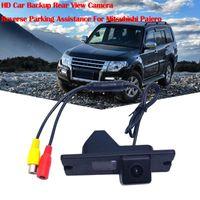 Car Rear View Cameras& Parking Sensors HD Backup Camera Reverse Assistance For Mitsubishi Pajero Waterproof And High Temperature #611