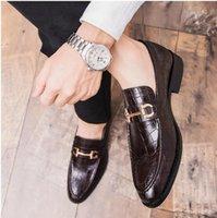 الرجال اللباس الرسمي الأعمال والأحذية البروغ حفل زفاف حذاء حذاء كبير الحجم