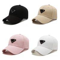 Top Qualité Fashion Street Ball Cap chapeau Casquettes Caps Baseball Casquette pour homme Femme Ajustable Sport Chapeaux 4 Saison