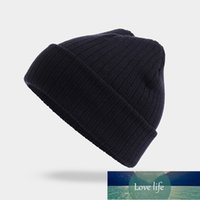 Winter Hat For Man Woman Knitted Beanie Warm Hat Autumn Spring Solid Soft Skullies Fashion Men's Bonnet Casual Unisex Skullcap Factory price expert design Quality
