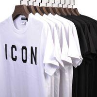 DSQICOND2 브랜드 아이콘 여름 코튼 부드러운 슬림 티셔츠 티 티 남성용 여성용 코튼 야구 모자 스냅 백 야외 아빠 모자 x0602