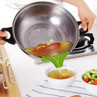 Силиконовые наливые носики Slip на супе носик воронки для кастрюлей Pans и чаши JARS кухонный гаджет инструмент кухня CCF6339