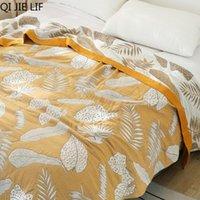 Life 100% хлопок Муслин Летнее одеяло марлевые кровать диван чехол шикарная многофункциональная мандала бросать дышащие одеяла путешествий