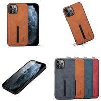Slim Vintage Leather Phone Case for iPhone 13 12 Mini 11 Pro Max XR XS 7 8 Plus Full Protective Soft Card Slot Wallet Clutch Business Back Cover