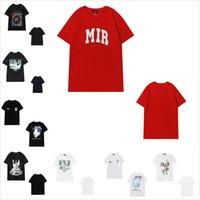 Mulheres Camiseta Alta Qualidade T-shirt T-shirt Mens de manga curta algodão tops Casual com Etiqueta Redondo Pescoço Pullover Letras Espuma Imprimir Pomba 0102