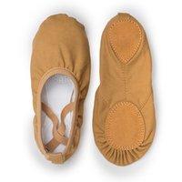 Qualität Tuose Professionelle Ballerina Split-Sohle Canvas Tanz Gymnastik Kinder Yoga Ballettwohnungen Kinder Tanzschuh Frau
