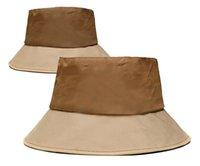 2021 дизайнерская мода мужская и женская рыбака шляпа бейсболка сшивание осеннего забрала солнце