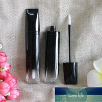 20 x 5ml Gradient Black Empty Lip Gloss Tube Travel Mini Liquid Batom Lip Serum Sleeping Mask Base Foundation Containers