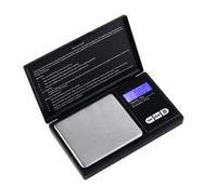 200г х 0,01 г Черный карманный размер электронный ЖК-цифровой Цифровая личная прецизионная сумма ювелирных изделий, алмазное золото баланс весы 408 v2